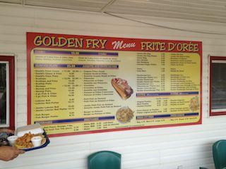 Golden Fry / Frite dorée